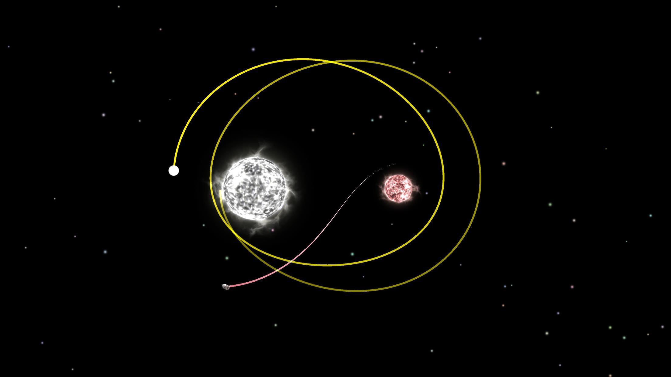 Screenshot do app Planet Gravity - SimulateOrbit