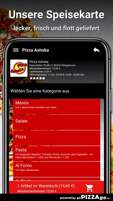 Pizza Ashoka Königsbrunn screenshot 4