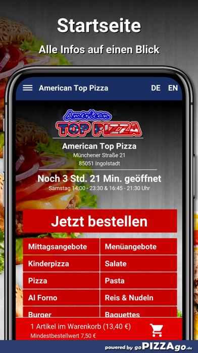 American Top Pizza Ingolstadt screenshot 2