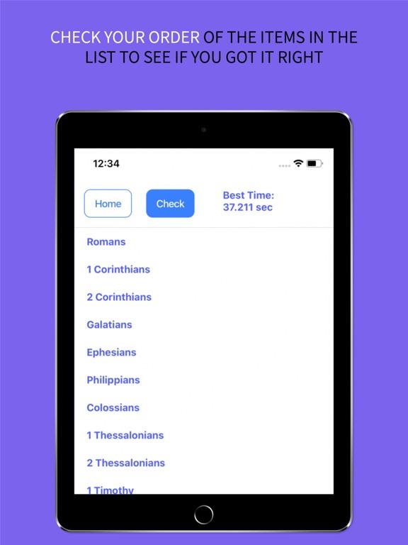 the BibleOrder App screenshot 13