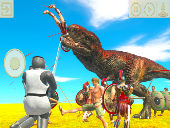 Animal Revolt Battle Simulatorのおすすめ画像4