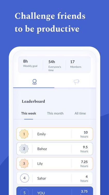 Flipd: Focus & Study Timer screenshot-6