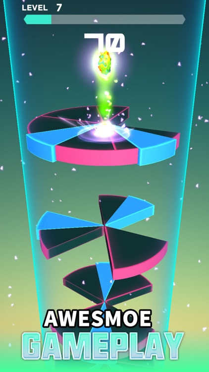 Spiral Rush Go-Jump  On Tower