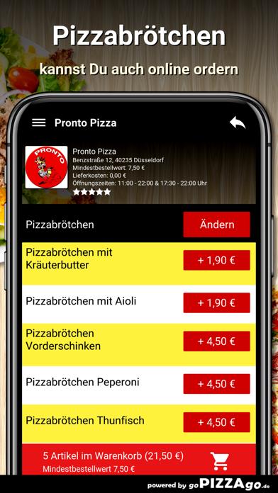 Pronto Pizza Düsseldorf screenshot 5