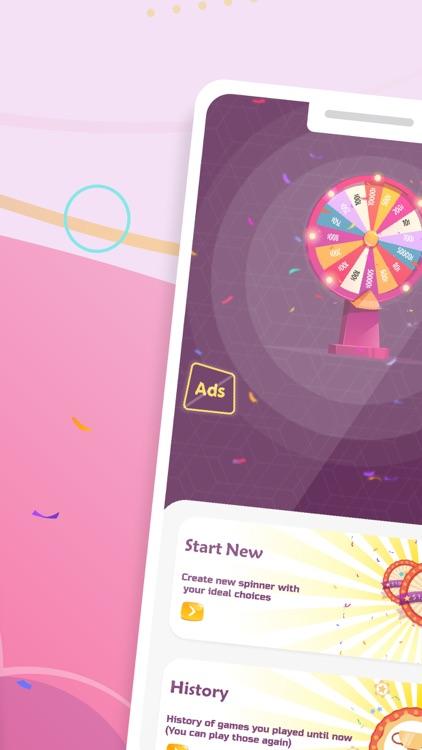Spinner - Decision maker wheel screenshot-1