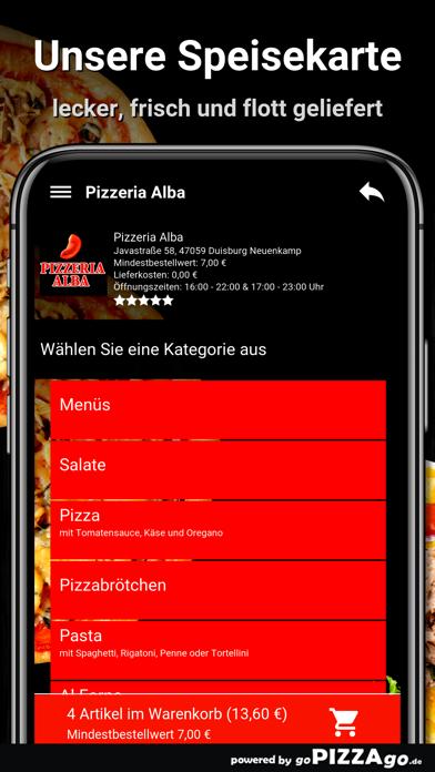 Pizza Alba Duisburg Neuenkamp screenshot 4