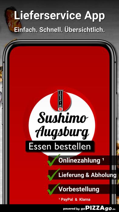 Sushimo Augsburg Göggingen screenshot 1