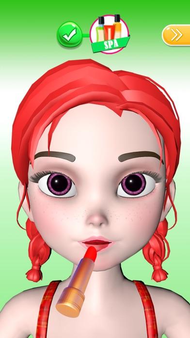 Makeup 3D: Salon Games for Fun Screenshot on iOS