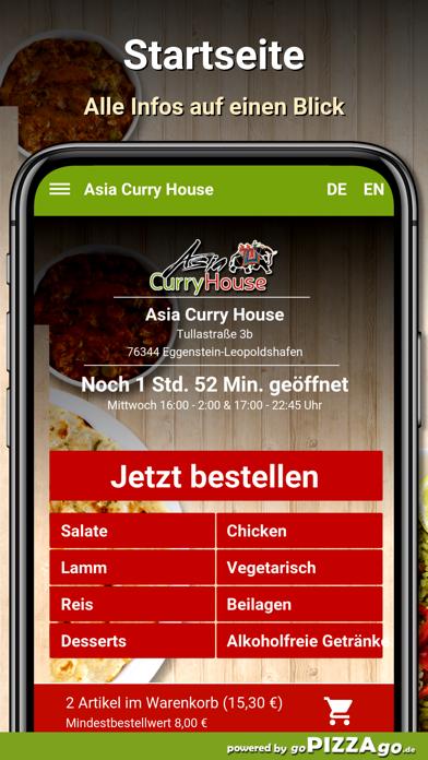 Asia Curry House Eggenstein screenshot 3