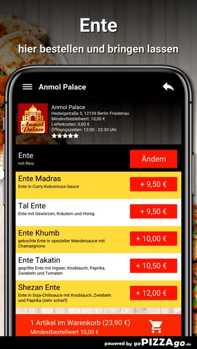 Anmol Palace Berlin Friedenau screenshot 6