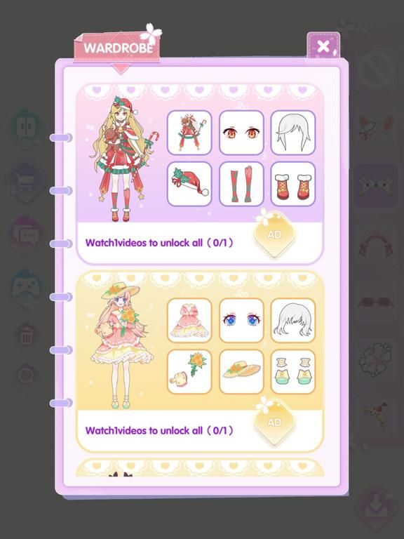 Vlinder Princess:着せ替えファッションゲームのおすすめ画像7
