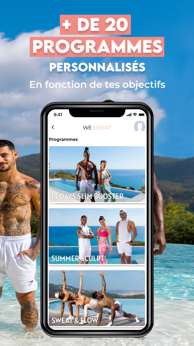 TrainSweatEat - App Fitness