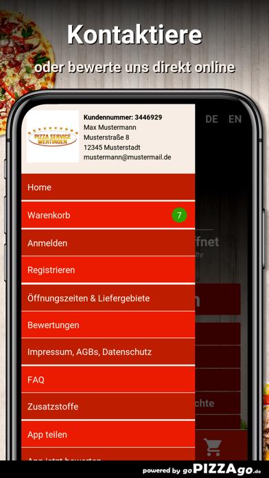 Pizza Service Wertingen screenshot 3