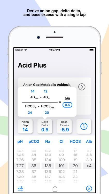 Acid Plus - The ABG Calculator