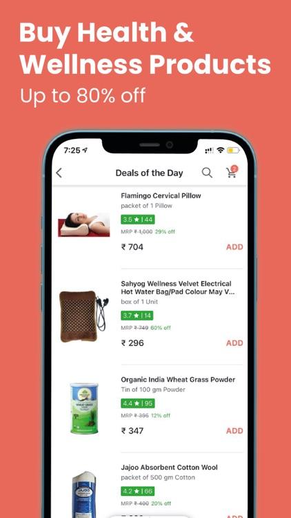 Tata 1mg - Healthcare App