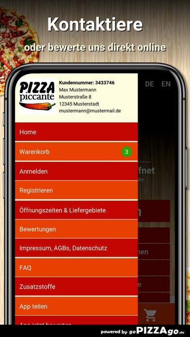 Pizza Piccante Augsburg screenshot 3