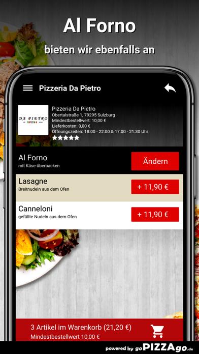 Pizzeria Da Pietro Sulzburg screenshot 6