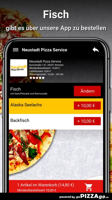 Neustadt Pizza Service Bremen screenshot 6