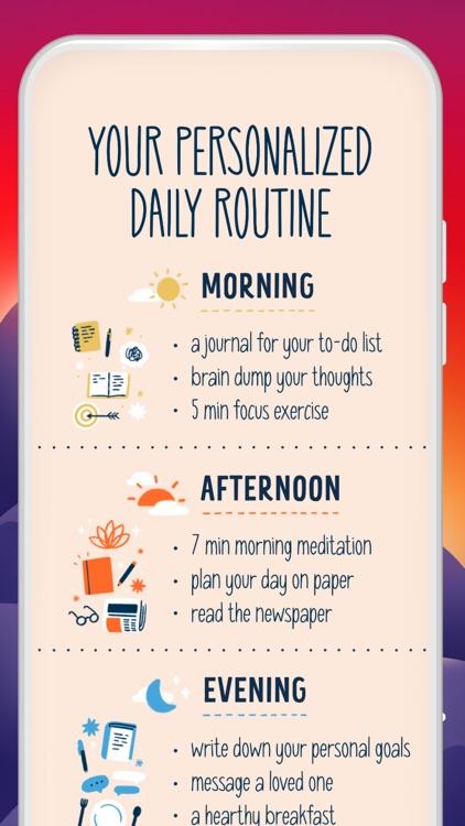 Fabulous-Daily Routine Planner screenshot-0