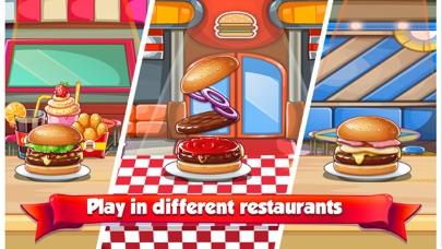 バーガーシェフのレストランのゲーム紹介画像2