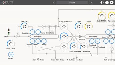 Kajita - AUv3 Plugin Effect紹介画像2