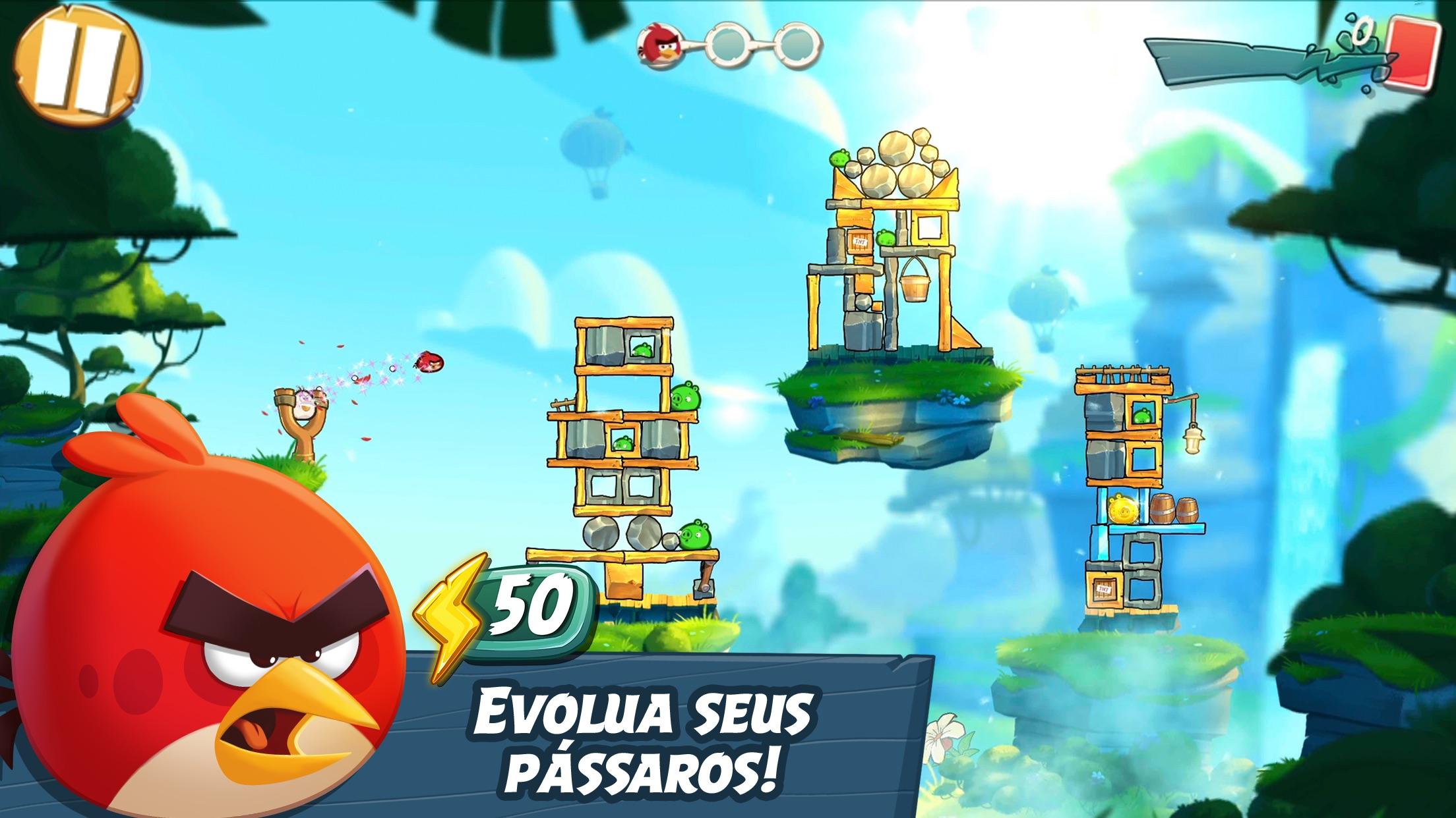Screenshot do app Angry Birds 2