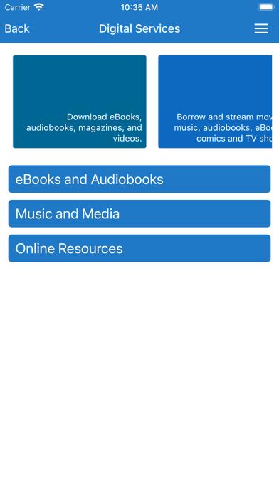 Bridgeport Public Library screenshot 1