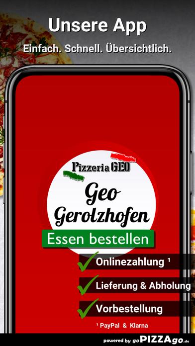 Pizzeria Geo Gerolzhofen screenshot 1