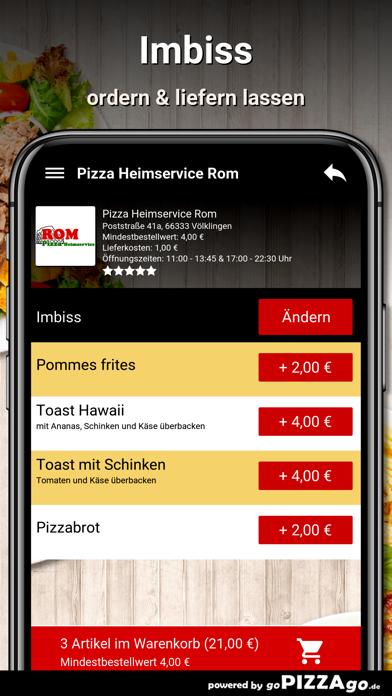 Pizza Rom Völklingen screenshot 6