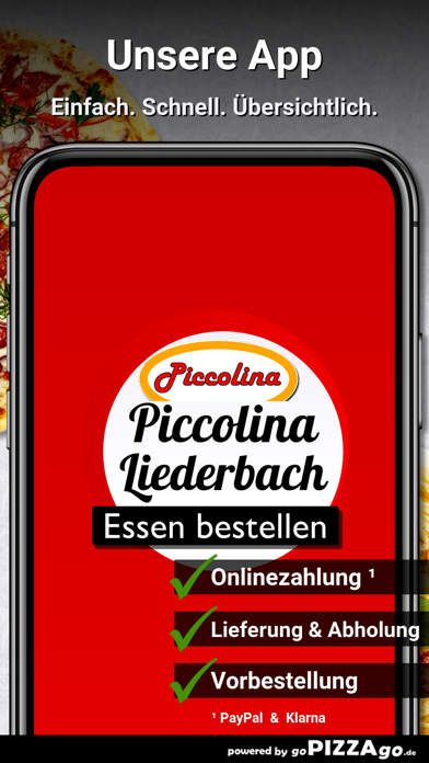 Pizzeria Piccolina Liederbach screenshot 1
