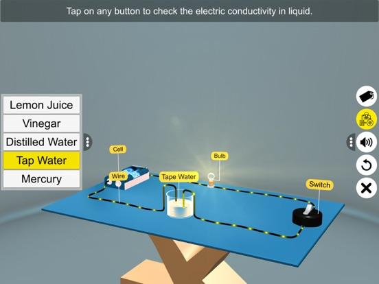Electric Conduction in Liquids screenshot 16