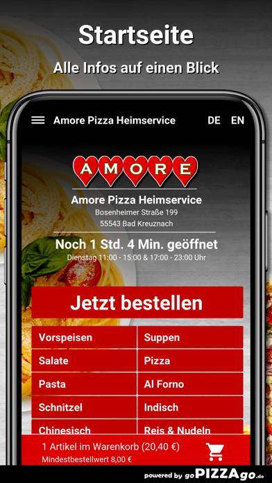 Amore Pizza Bad Kreuznach screenshot 2