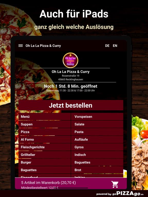 Oh La La Pizza Recklinghausen screenshot 7