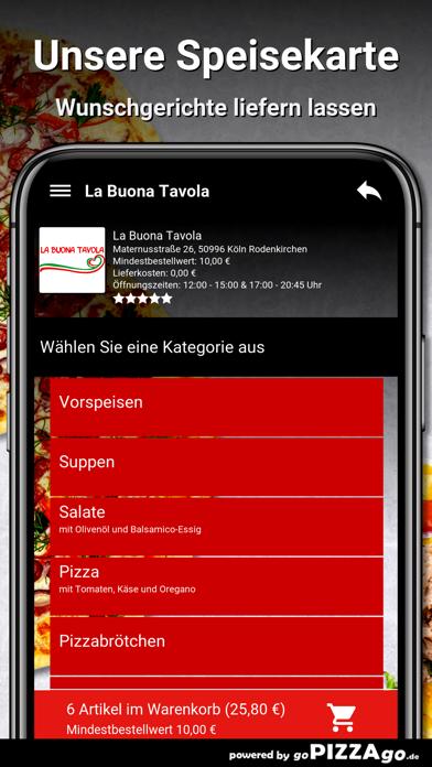 La Buona Köln Rodenkirchen screenshot 4