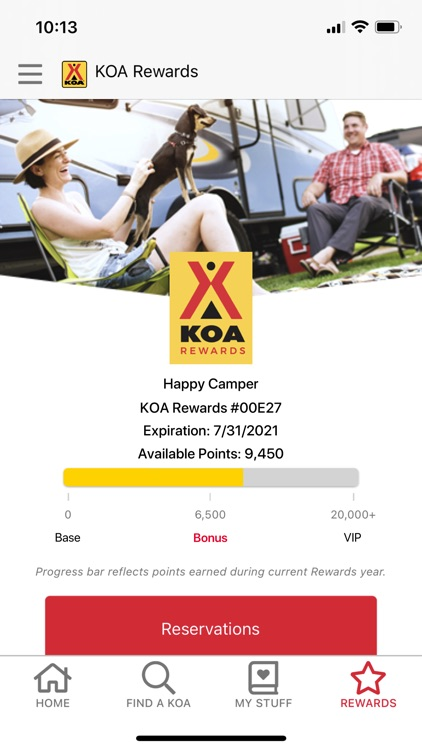 KOA   RV, Cabin & Tent Camping