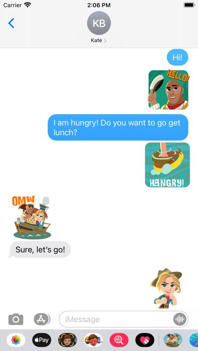 Jungle Cruise Stickers screenshot 4