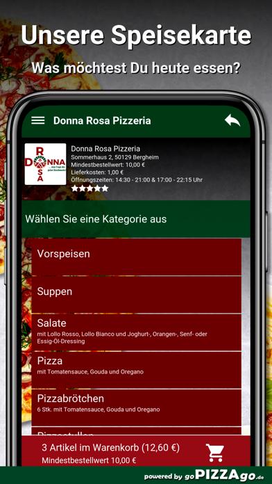 Donna Rosa Pizzeria Bergheim screenshot 4
