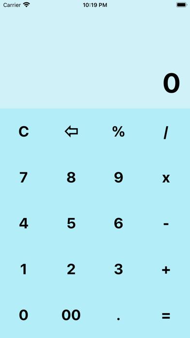 My BlueCalculatorلقطة شاشة4