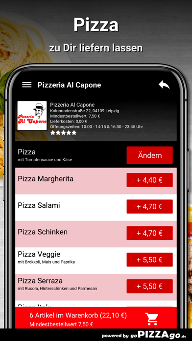 Pizzeria Al Capone Leipzig screenshot 5