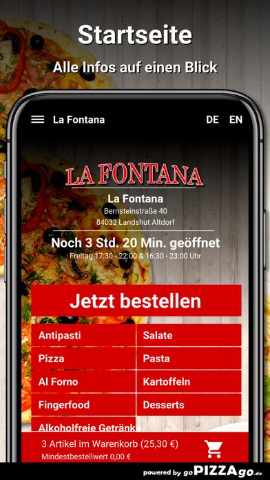 La Fontana Landshut Altdorf screenshot 2