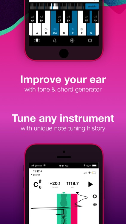 Tunable – Tuner & Metronome screenshot-3