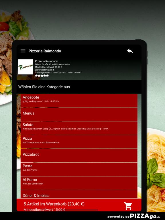 Pizzeria Raimondo Wiesbaden screenshot 8
