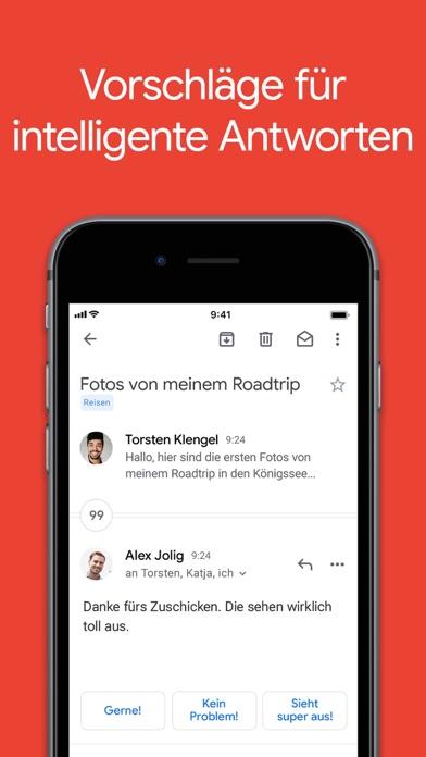 Gmail – E-Mail von GoogleScreenshot von 4