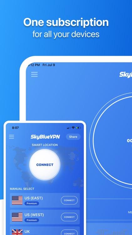 SkyBlueVPN: VPN Fast & Secure screenshot-3