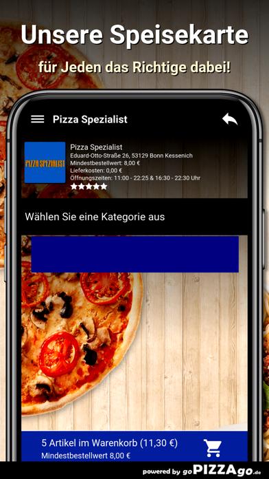 Pizza Spezialist Bonn screenshot 4