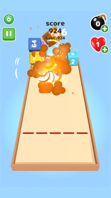 2048 Throw cube - Merge Game screenshot 5