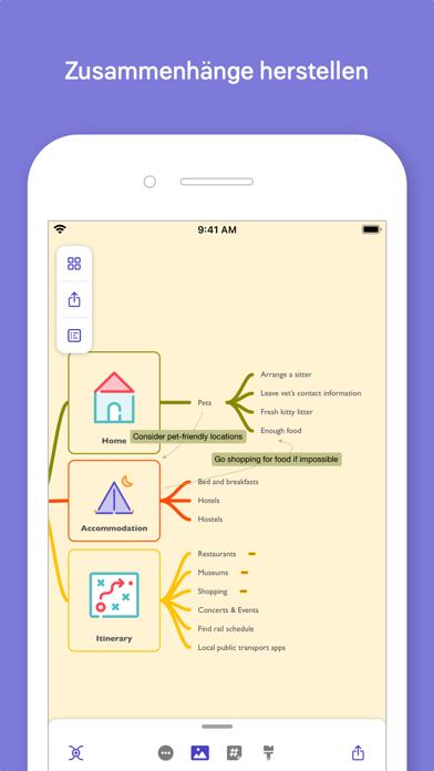 MindNode - Mind Map & OutlineScreenshot von 9
