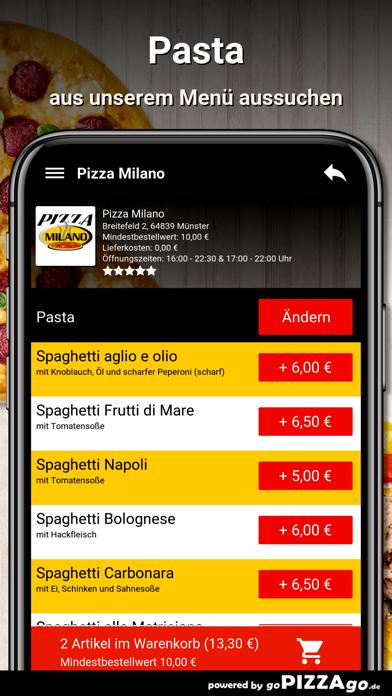 Pizza Milano Münster screenshot 5