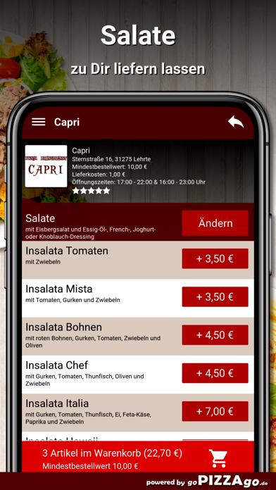 Capri Lehrte screenshot 5
