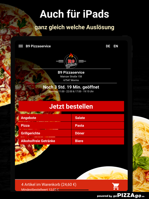 B9 Pizzaservice Worms screenshot 7
